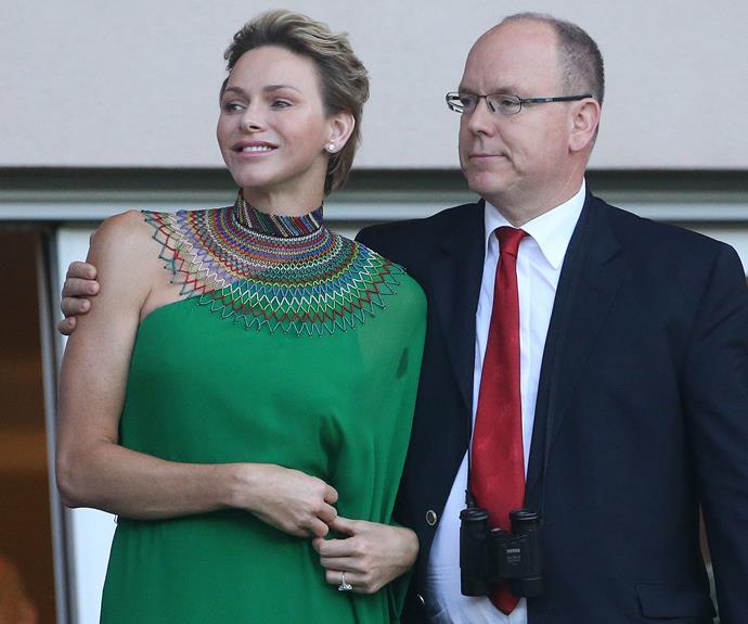 The Monaco royal is married to Princess Charlene.