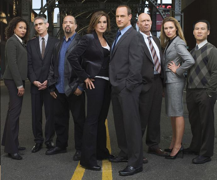 """**Best: *Law & Order: SVU –*** After the continued success of legal drama ***Law & Order***, which ran for a whopping 20 seasons all up, an off-shoot was created which focused on the """"Special Victims Unit"""". This spin-off follows the work of the detectives who deal with sexual crimes in New York City. Mariska Hargitay stars as lead detective Olivia Benson and for the first twelve seasons Christopher Meloni played her partner Elliot Stabler. This partnership turned out to be a winning combination and Meloni's departure from the show in 2011 left a gaping hole in our hearts. However, the show soldiered on and it is still going strong 18 seasons in!"""