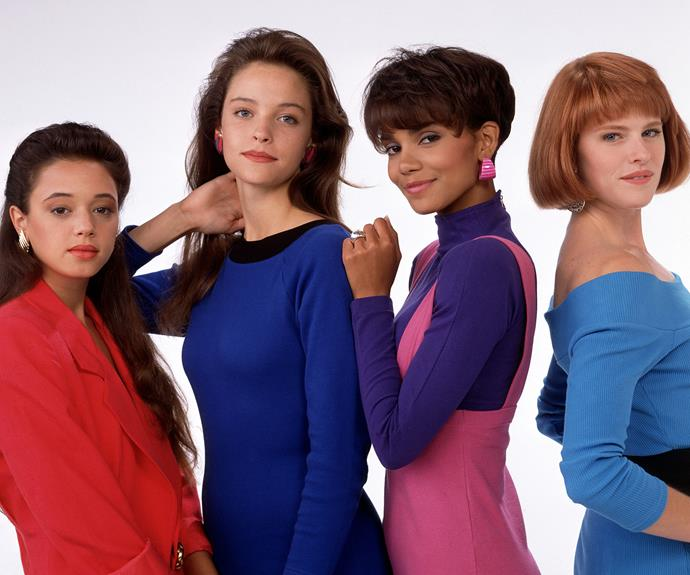**Worst: *Living Dolls –*** The 1989 series ***Living Dolls*** was a spin-off from popular sitcom ***Who's The Boss?*** But unfortunately *Living Dolls* didn't see any of the success of its predecessor and was cancelled after only one season. The show followed young model Charlie Briscoe, played by a young Leah Remini (top far left), who was friends with Alyssa Milano's character Samantha. Charlie and her other model friends, which included Halle Berry (second from the right) in her first acting role, navigated life in New York City.
