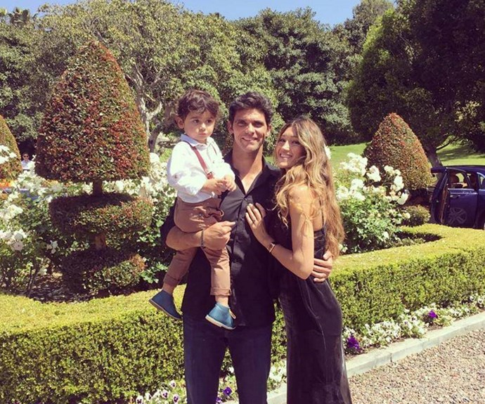 Mark with his wife Silvana and son, Nicholas.