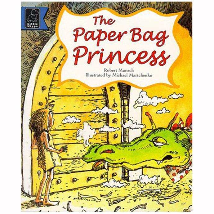 "Get it [here](http://www.goodreads.com/book/show/240130.The_Paper_Bag_Princess|target=""_blank""|rel=""nofollow"")."