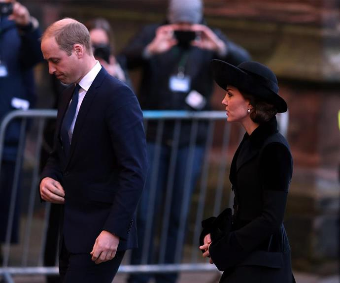 The Duke and Duchess will never travel without a mourning outfit prepared.