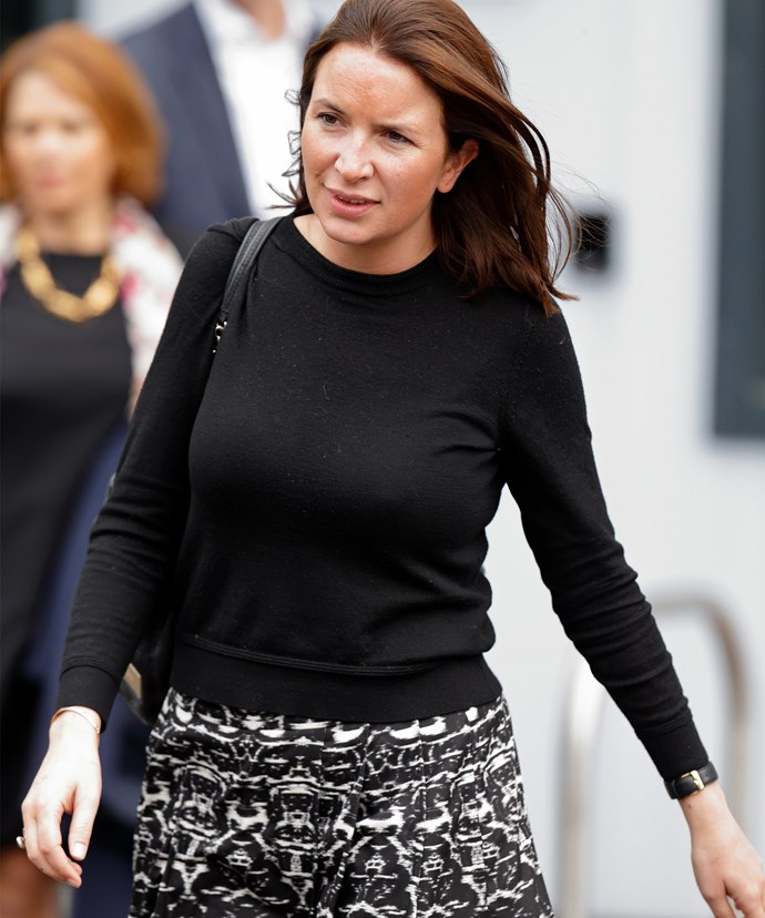 """""""After a decade of service to the Duke and Duchess of Cambridge and Prince Harry, Rebecca Deacon will be stepping down as private secretary to the Duchess of Cambridge."""""""