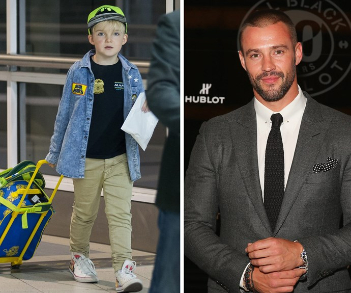 """Dad Kris Smith describes his boy as """"polite, generous… he's kind of perfect."""""""