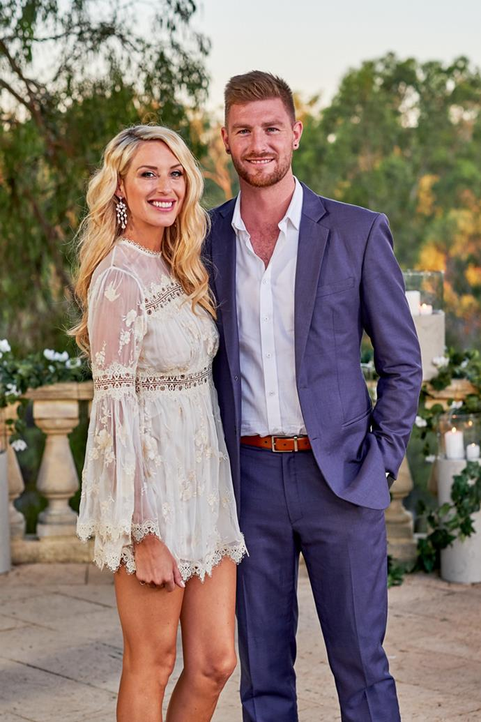 Despite their connection on the show, Shaz and Nick split last month.