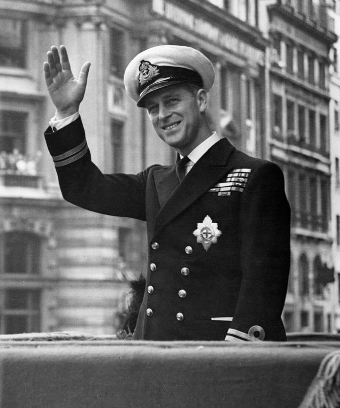 Philip adored the Naval forces.