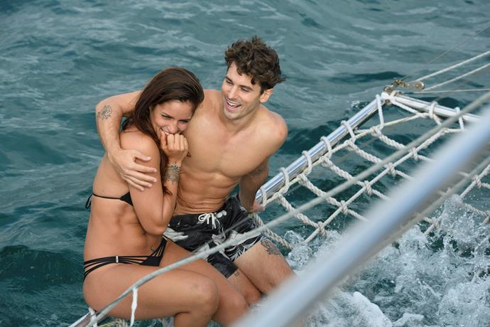 Elora's date with Matty seemed perfect, right down to the luxury yacht!