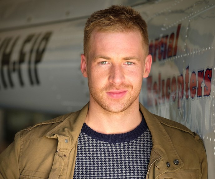 **Angus McLaren as Dr Toke:** Know the name? Angus was last seen on screens four years ago as Nathan Rafter in ***Packed To The Rafters***. Now he's joined the cast of *Doctor Doctor*. Here, 
