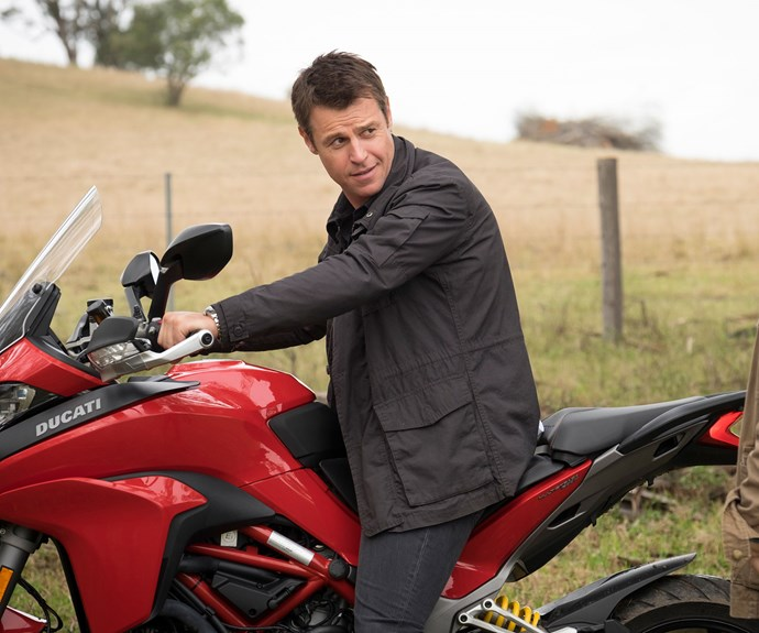 **Rodger Corser as Hugh:** Party-boy and heart surgeon Hugh Knight has arrogance and self confidence in spades. But he struggles to adapt to the small town clinic he is transferred to.
