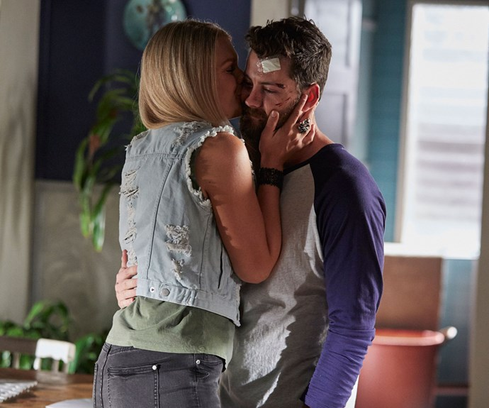 Ziggy sends Brody off to rehab with a tender kiss.
