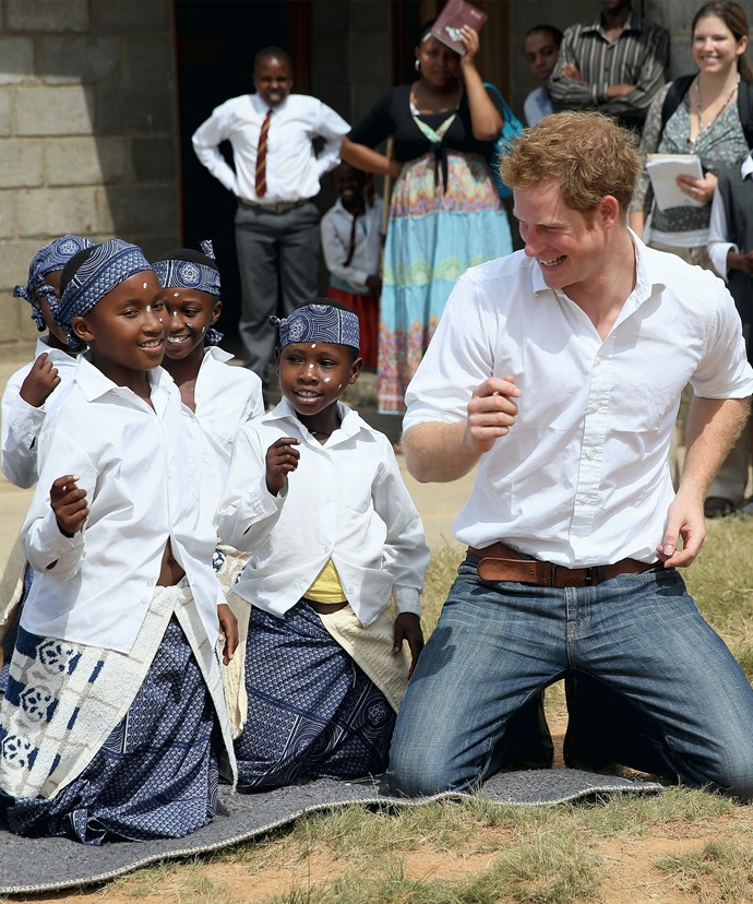 The 32-year-old has come to think of Africa as his second home.