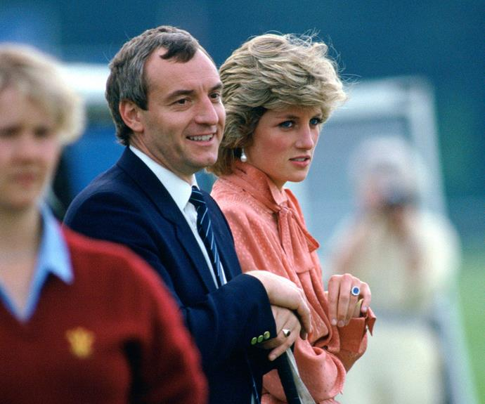 Barry and Diana, pictured in 1985.