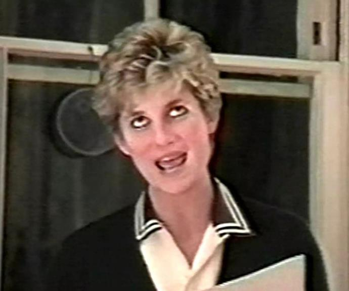 Diana, pictured in the explosive tapes, addresses everything from her sex life to her relationship with the Royal Family.
