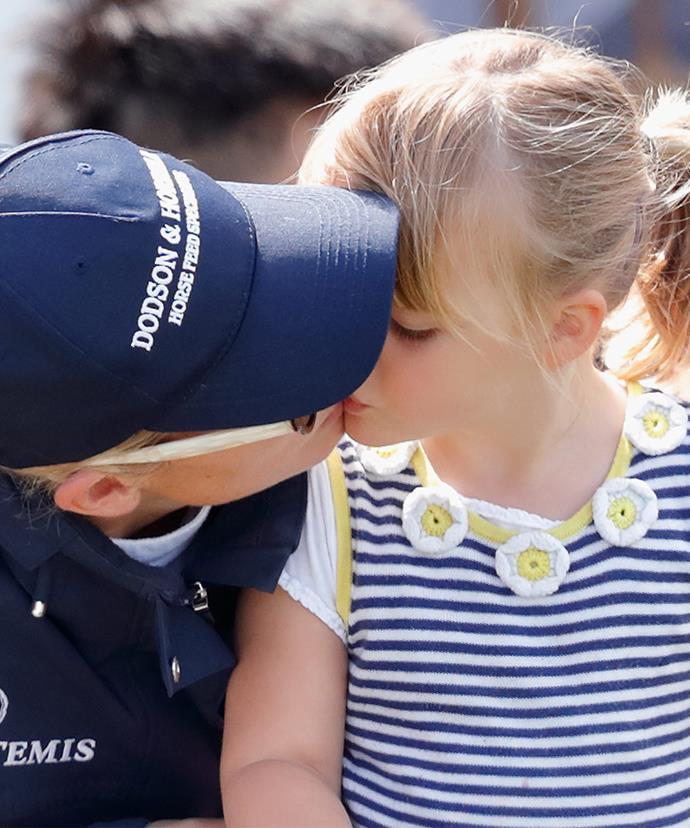 Wait, a kiss is even better!