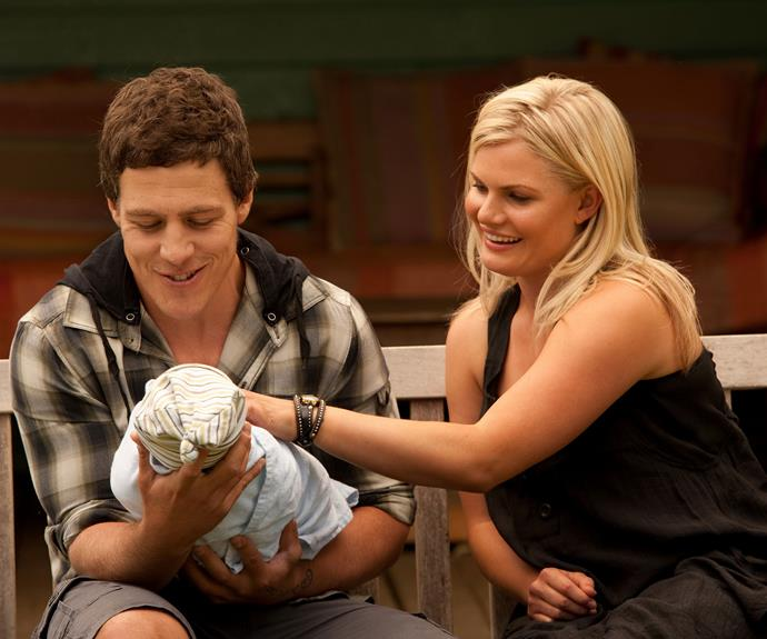 Brax (Stephen Peacocke) and Ricky quickly fell in love but it wasn't all smooth sailing. Not even Ricky's marriage to Nate (Kyle Pryor) could stop this couple from being together. In 2016 Brax returned to the Bay to for Ricky and baby Casey and they all lived happily ever after!