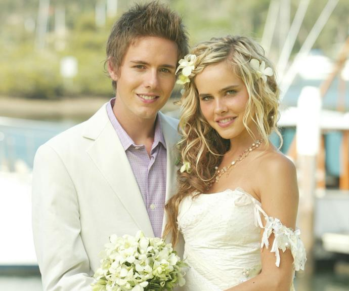 **Robbie & Tasha:** Robbie Hunter (Jason Smith) tried to catch Tasha Andrews' (Isabel Lucas) with a trap when she was living by herself in the bush. Their relationship was rocky from the beginning. Tasha's fling with Kim Hyde (Chris Hemsworth) didn't help things either. However, Robbie and Tasha eventually got married and moved to America with Tasha's daughter Ella.