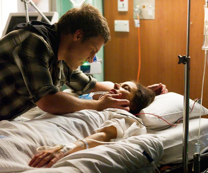 Unfortunately Charlie was shot twice by Jake Pirovic (Fletcher Humphrys) and despite the hospital's best attempts, her daughter Ruby (Rebecca Breeds) and Brax was forced to turn off her life support.