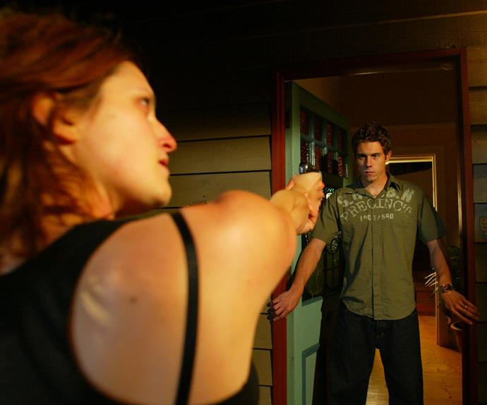 In a tragic turn of events, Hayley and Noah's marriage was cut short when Noah was shot dead by Sarah Lewis (Luisa Hastings-Edge) during a siege where she was holding a number of Summer Bay resident's hostage.