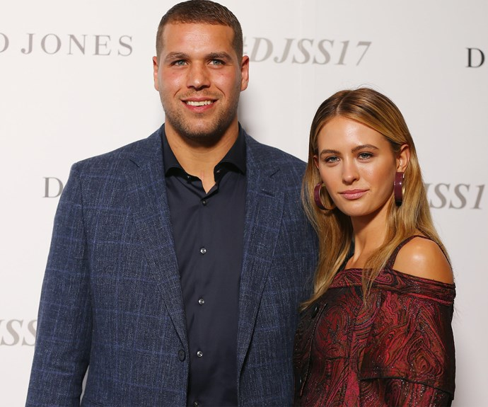 Loved up Jesinta Campbell with hubby Buddy Franklin...