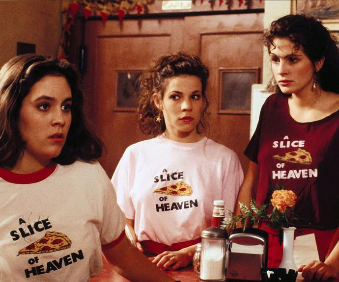 ***Mystic Pizza*** (1988): In the sleepy town of Mystic, Connecticut, 