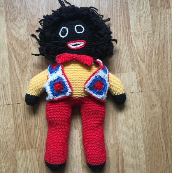 Princess Diana didn't want the boys playing with golliwogs. Source: Instagram