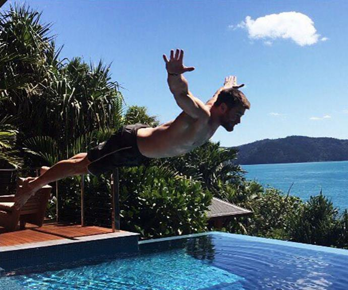 It's not the first time the pair have enjoyed time in the Whitsundays. They've also stayed at the stunning Qualia resort on Hamilton Island.