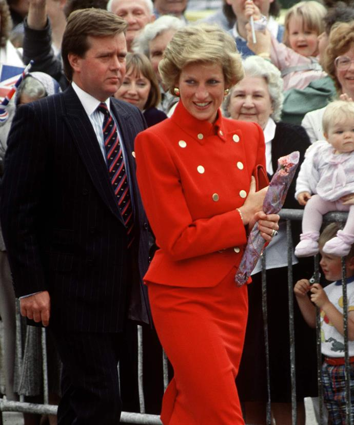 Ken Wharfe worked was Diana's protection officer from 1987 until 1993.