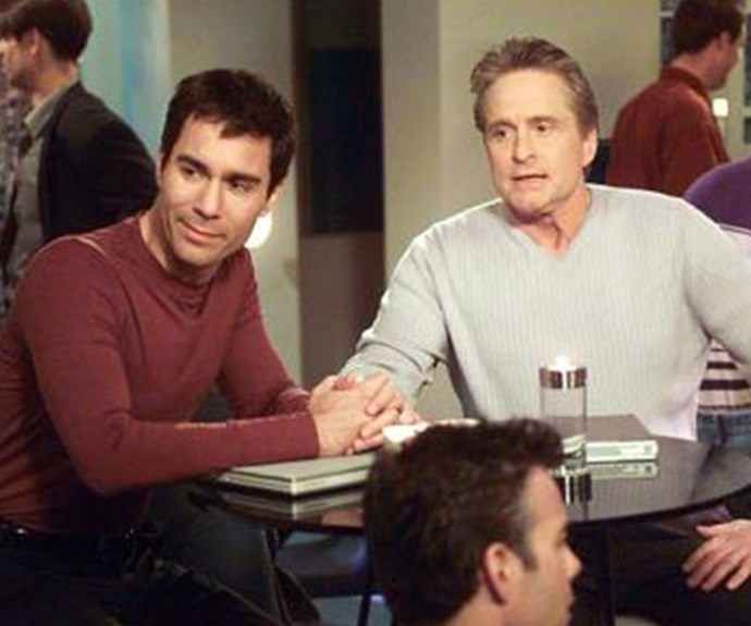 **Michael Douglas as Detective Gavin Hatch (Appearance: S4, E23):** When Will's laptop is stolen, Michael Douglas is the detective who handles his case. But when Gavin develops an interest in Will, he creates an elaborate ruse which sees the pair go to a gay nightclub in order to stake out the person responsible for stealing the laptop.