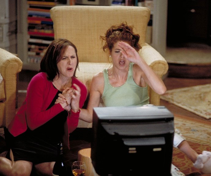 **Molly Shannon as Val Bassett (Appearance: reoccurring):** Molly Shannon played Will and Grace's kooky neighbour Val, who appeared in several episodes and created havoc for Grace. Not only did Val become obsessed with Jack for a time, but she also went so far as to steal Grace's sketches as pass them off as her own designs!