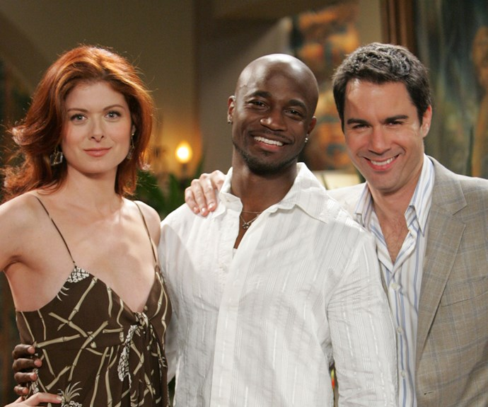 **Taye Diggs as James Hanson (Appearance: reoccurring):** American actor Taye Diggs, known for his roles in *Empire* and *Private Practice*, appeared in four episodes of *Will & Grace*. He starred as Will's love interest James, who was first introduced when the pair ran into each other at a movie theatre and felt an instant connection. Will and James ran into each other again during a trip to LA and Grace offered to marry James, who was in the process of being deported back to Canada, in order for Will to get to know him. After the wedding, Will discovers that James is quite self-centred and asks Grace to get the marriage annulled.