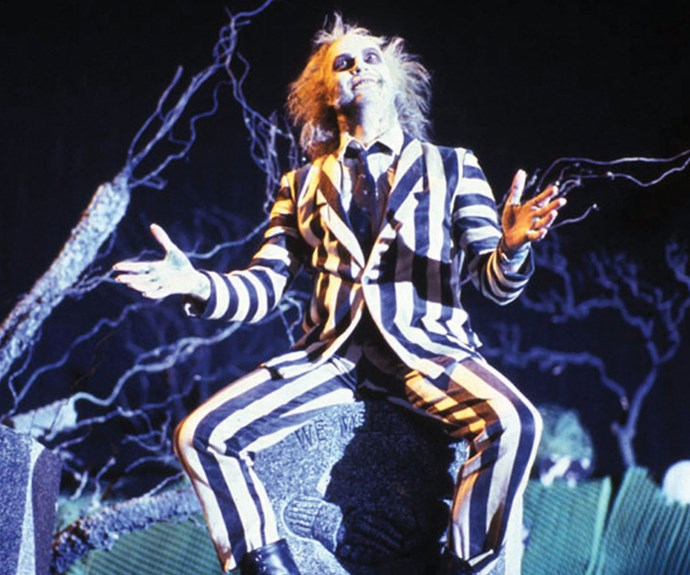 ***Beetlejuice*** **(1988):** Newlyweds Adam (Alec Baldwin) and Barbara (Geena Davis) are enjoying life in the country – until tragedy strikes. As the two realise they're dead, they're dealt a second blow when a new family moves into their house. Despite their plan to scare off the owners, Adam and Barbara are hopeless at haunting. Enter Betelgeuse (aka Beetlejuice, Michael Keaton), the professional poltergeist who's more than they bargained for.