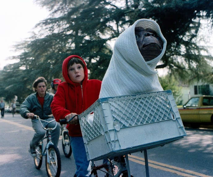 ***E.T. The Extra-Terrestrial*** **(1982):** When a kind and gentle alien lands on Earth, he's found by a young boy named Elliott (Henry Thomas). The two quickly form a close friendship, and Elliott brings E.T. home with him. But when E.T. falls ill and the government learns of his existence, Elliot races against time to return him to his home planet.