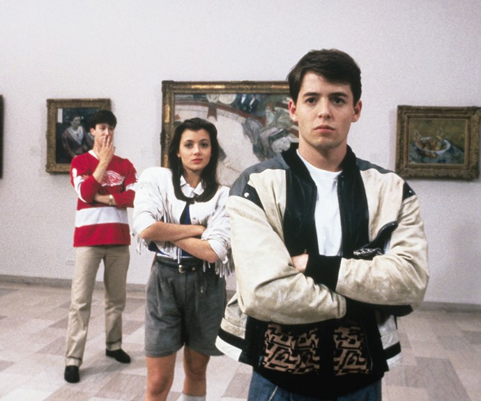 ***Ferris Bueller's Day Off*** **(1986):** In this classic by writer and director John Hughes, the mischievous Ferris (Matthew Broderick) wants to live life to the fullest rather than waste another moment at school. He skips class and hatches a brilliant plan: to have the day of his dreams with his girlfriend, Sloane (Mia Sara), and bestie, Cameron (Alan Ruck), in tow.