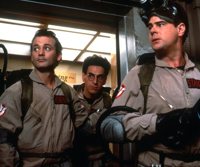 ***Ghostbusters*** **(1984):** Who you gonna call? These guys. Why? Because they're hilarious. When three parapsychology professors lose their jobs because of an experiment gone awry, they form a group named the Ghostbusters. Fighting demons and exorcising properties in New York City is all in a day's work for these nerdy heroes.