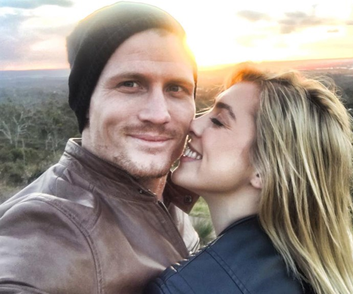 A shattered Richie has fled to Bali in the wake of their split.