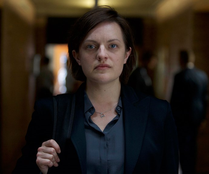 **ELISABETH MOSS AS ROBIN GRIFFIN:** Elisabeth reprises her role as Robin. She returns to Sydney from New Zealand a shell of a woman, with hopes her work will rejuvenate her. She wants to know the daughter she gave up at birth – but is she really ready to form a relationship with Mary?