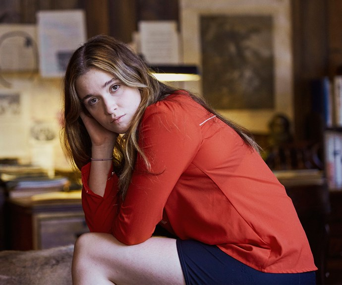 **ALICE ENGLERT AS MARY EDWARDS:** Jane Campion's daughter Alice plays Mary, who came to Julia and Pyke when she was two days old. She wrote to birth mother Robin as a 12-year-old, desperate for a reply. At 17, she's in a relationship with creepy guy Puss. Is she in over her head?