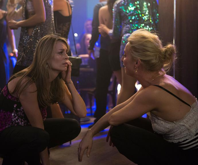 **Dance floor D&M:** We've all said too much on a night out. After a few too many drinks, Nina couldn't hold back the truth about how she was really feeling to Billie.