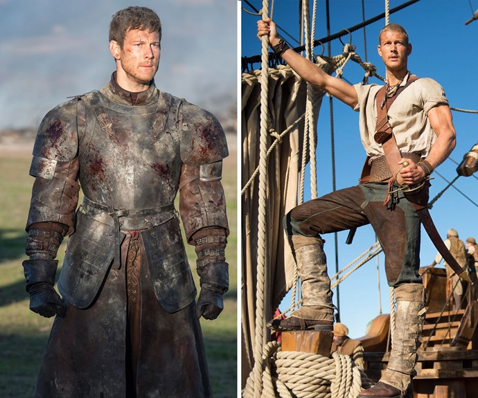 Fun fact: The handsome Dickon Tarley caused quite the stir when he popped up this season on *Game Of Thrones*. While he may have met a tragic end, if you'd like to see more of the actor Tom Hopper (and his muscly frame) you can catch him in the TV series *Black Sails* as the pirate Billy Bones.
