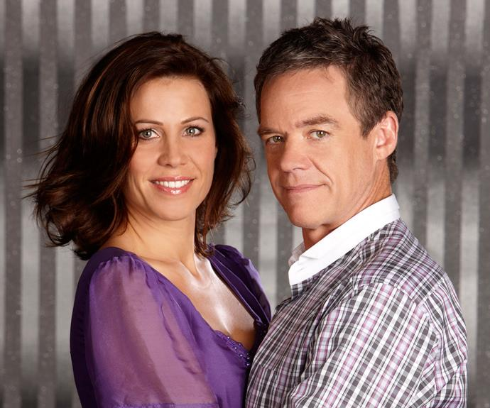 **Rebecca & Paul:** This couple sure had a bumpy few years together! Rebecca Napier (Jane Hall) and Paul Robinson (Stefan Dennis) had a very on again off again relationship, mainly because of Paul's infidelities. After one failed engagement and an interrupted wedding, Paul and Rebecca finally tied the knot but their happiness didn't last long.