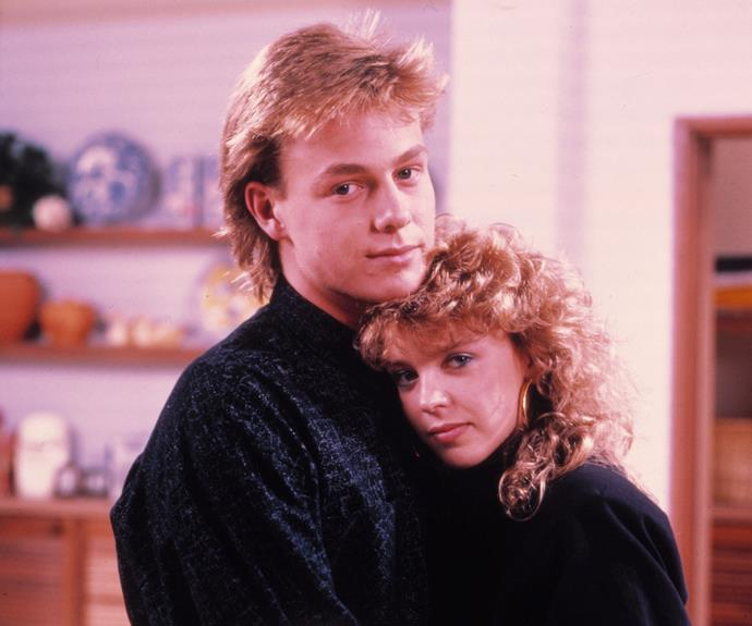 **Scott & Charlene:** Lovebirds Scott Robinson (Jason Donovan) and Charlene Mitchell (Kylie Minogue) first met in 1986 when Scott mistook Charlene for an intruder at Madge Ramsay's (Anne Charleston) house. It turned out that Charlene was actually Madge's daughter who she hadn't seen for a number of years. The pair eventually fell in love, despite the opposition of their two families - the Ramsay's and the Robinson's.