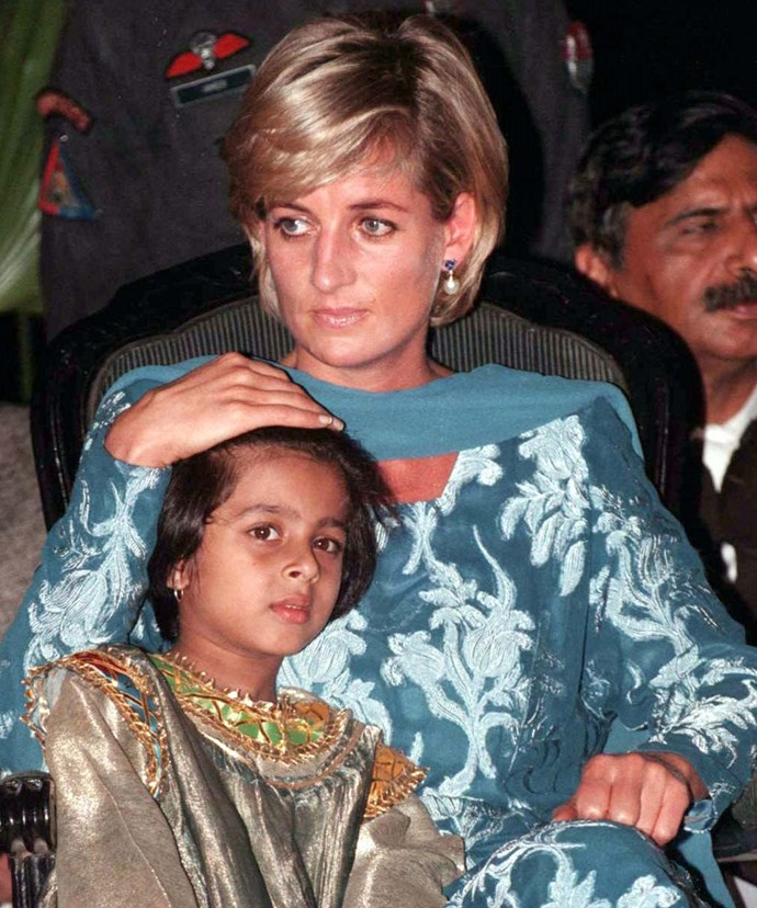 Diana longed for praise from within the royal family for her inspiring charity work.