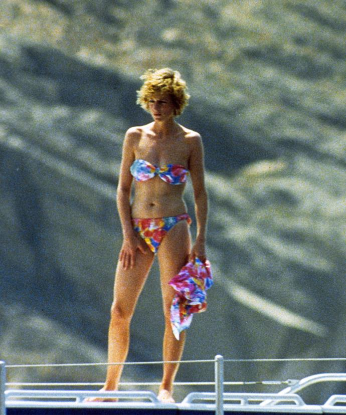 The Princess of Wales longed for anonymity.
