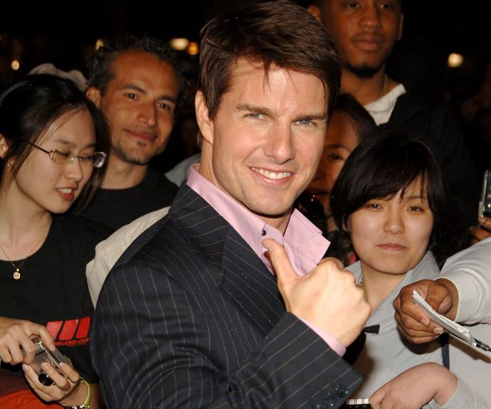 "**Tom Cruise** The [*Top Gun*](http://www.nowtolove.com.au/celebrity/movies/tom-cruise-confirms-top-gun-2-37694|target=""_blank"") star was first introduced to Scientology back in 1990 through his first wife, actress [Mimi Rogers](http://www.nowtolove.com.au/celebrity/celeb-news/what-happened-to-the-first-mrs-tom-cruise-mimi-rogers-3598