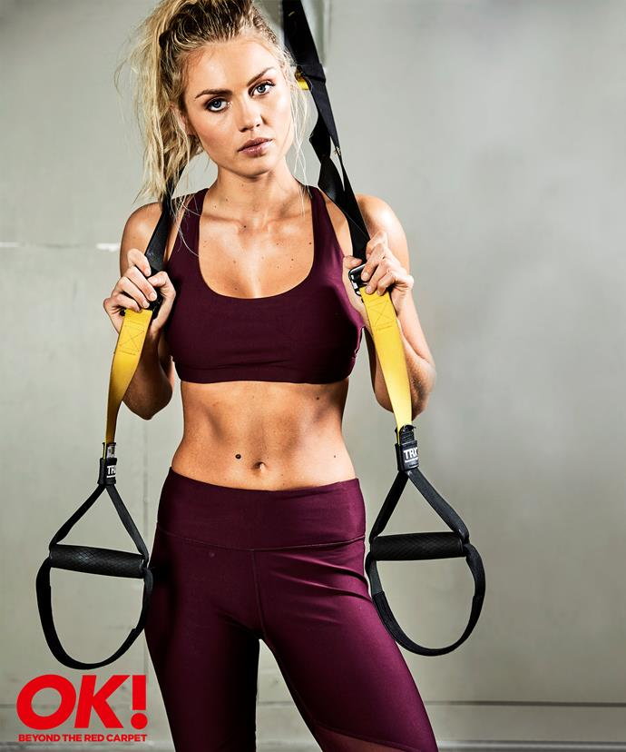 Elyse makes working out look like a piece of cake when the reality is, she works damn hard for that bod.