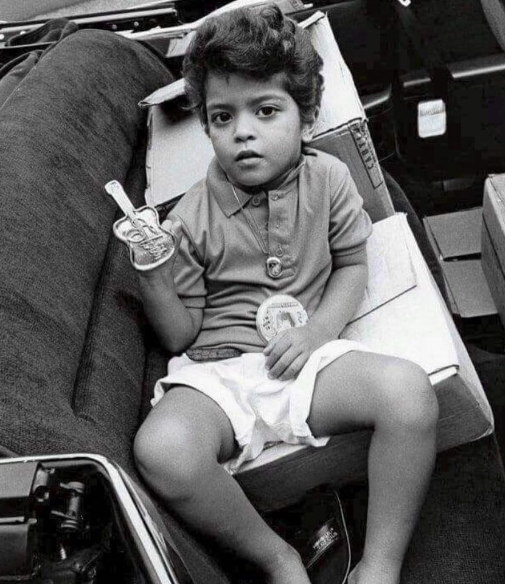 This young treasure had style right from birth.