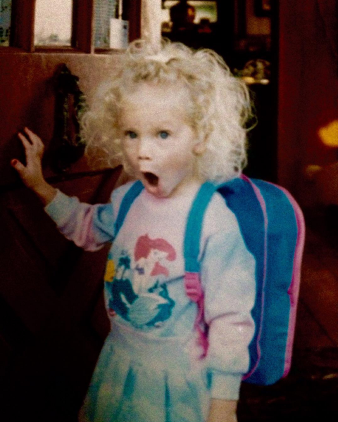 Our faces when we realised who this cutie grew up to be.