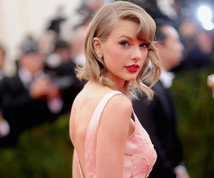 """Not in our wildest dreams would we have guessed it's **[Taylor Swift](http://www.nowtolove.com.au/celebrity/celeb-news/taylor-swift-suprises-elderly-veteran-for-christmas-33165