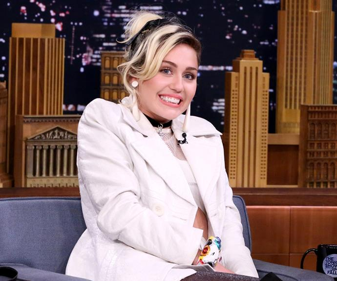 """It's always a party in the USA with **[Miley Cyrus](http://www.nowtolove.com.au/celebrity/celeb-news/miley-cyrus-talks-about-marrying-liam-hemsworth-39701