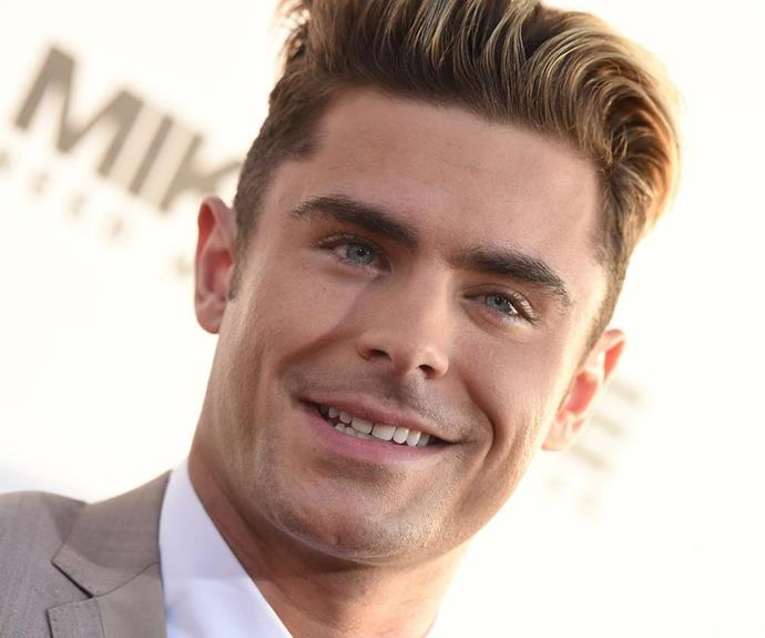 """Yep, the man with 26 abs, **[Zac Efron](http://www.nowtolove.com.au/tags/zac-efron